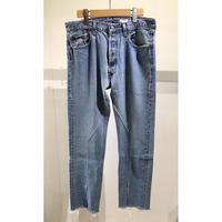 "OLDPARK  /  Slit Jeans  #Blue ""E"" / size:M"