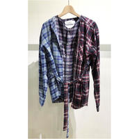 OLDPARK  /  Layered shirt #Red / size:Free