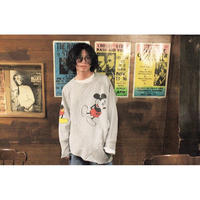 OLDPARK  / 2Way sweat #Micky / size:Free
