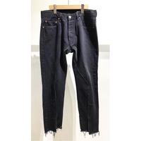 "OLDPARK  / Slit Jeans #Black ""D"" / size:L"