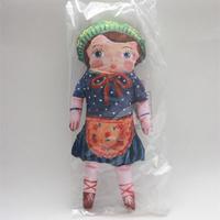Natalie Leteナタリーレテ☆インポート雑貨/女の子のお人形クッション☆デコレーション Doll Cushion