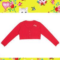Mim-Pi(ミンピ)のWu&Wuコラボ猫ちゃんリボン付きカーディガン Crop cardigan with a kitty ribbon