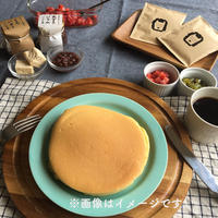パンケーキセット(栃バター・あずきジャム付き)