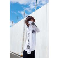 DJ後藤まりこロンT(ホワイト)
