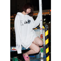 DJ後藤まりこパーカー(白)