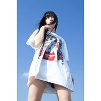 DJ後藤まりこ三角Tシャツ【White】