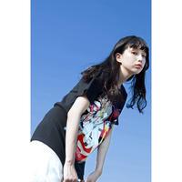 DJ後藤まりこ三角Tシャツ【Black】