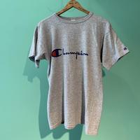 80s  アメリカ製 チャンピオン champion トリコタグ 染み込みプリント Tシャツ