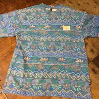 80s OFF SHORE 総柄 Tシャツ!