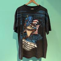 90s  アメリカ製 ルーニーテューンズ タズマニアン デビル Tシャツ!