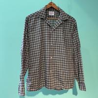 60s  all cotton  VAN HEUSEN  ヴァン ヒューゼン オープンカラーシャツ!