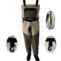 大人気!!フィッシング スーツ  ウェイダー 釣り  防水 通気性 耐摩耗性 速乾性  カヤック サロペット