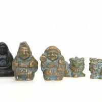 讃岐鋳造品 神事もの 大黒天さま、恵比寿さま