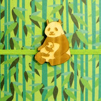 ご祝儀袋 ZOOシリーズ 親子パンダ