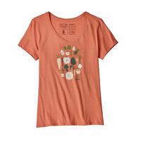 patagonia(パタゴニア)Women's Harvest Haul Organic V-Neck T-Shirt(ハーベストホールオーガニックVネックTシャツ)39184