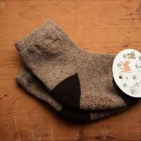 Organic Yak Wool ソックス(お子さま用)C
