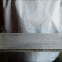 船串篤司さん 板皿 長方形(銀彩)41