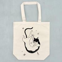 踊る猫指揮者(トートバッグ)
