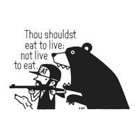 生きるために食べよ。食べるために生きるな。