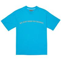 『Verynineflux』  ラウンド  Tシャツ (Blue)