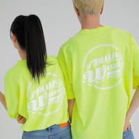 『Motivestreet』 クラウドピグメントSST  Tシャツ (NeonLime)