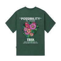 『TRIPSHION』  ポシビリティーフラワー Tシャツ (Green)