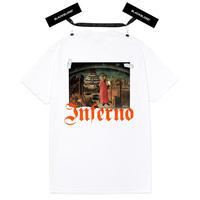 『BLACKBLOND』 インフェルノ半袖 Tシャツ (White)