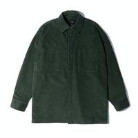 『 BY.L 』    コーデュロイオーバシャツジャケット (Green)