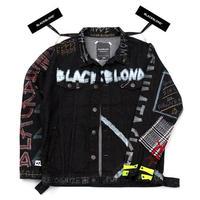 『BLACKBLOND』イノセントグラフィティデニムジャケット (Black)