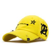 『BLACKBLOND』  レフレクションロゴノーシンパシーキャップ (Yellow)