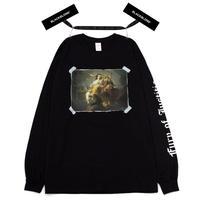 『BLACKBLOND』 ユースティティアロングスリーブ Tシャツ (Black)