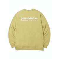 『grooverhyme』  NYC ロケーションスウェット (Olive)