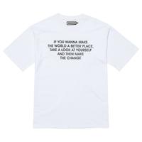 『Verynineflux』  インストラクション  Tシャツ (White)