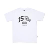 『MOTIVESTREET』   グッドイナフアイビーリーグ Tシャツ (White)