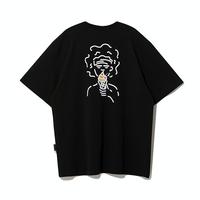 『Motivestreet』 アイスクリームボーイ半袖Tシャツ (Black)