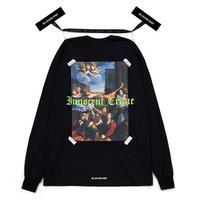 『BLACKBLOND』 イノセントクライムロングスリーブ Tシャツ (Black)