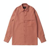 『 BY.L 』    ミニマルカバーシャツ (Pink)