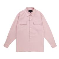 『 BY.L 』  オーバーストライプシャツ (Pink)