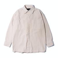 『 BY.L 』    コーデュロイオーバシャツジャケット (Ivory)