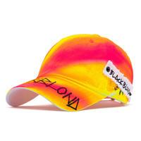 『BLACKBLOND』  サイドパッチグラフィティーロゴロリポップキャップ (Pink/Neon)