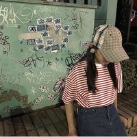 Motivestreet MIX CHECK CAP (Beige)