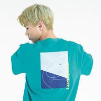 『Motivestreet』 バックコート  Tシャツ (Green)