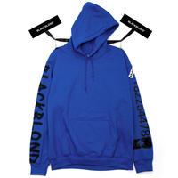 『BLACKBLOND』 グラフィティーナンバーパーカー (Blue)