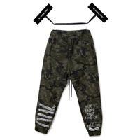 Blackblond BBD Graffiti Camo Jogger Pants (Khaki)
