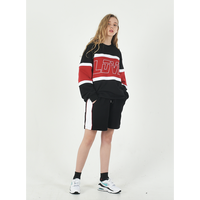 BY.L  LOVE LINE SWEATSHIRT (Black)