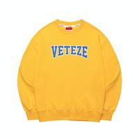 『VETEZE』  エアプレーンスウェット (Yellow)