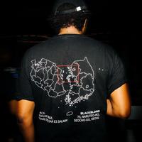『BLACKBLOND X MAISON』  ショートスリーブ Tシャツ (Black)
