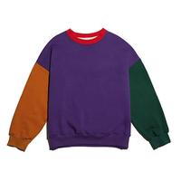 『Motivestreet』 カラーパズルスウェット (Purple)