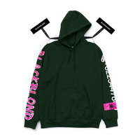 Blackblond BBD Graffiti Number Hoodie (Green)