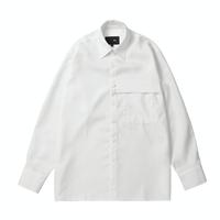 『 BY.L 』    ミニマルカバーシャツ (White)